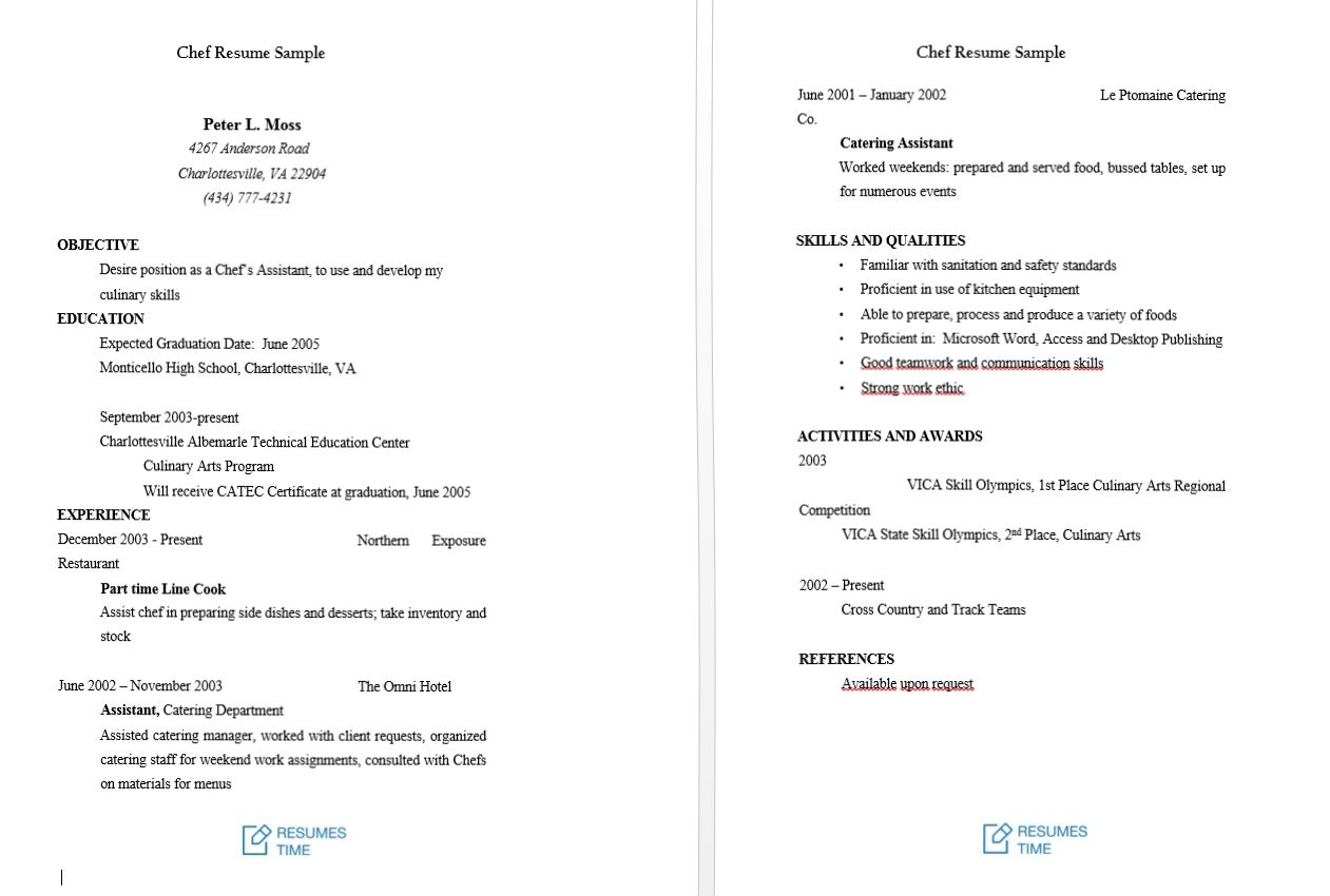 Resume Samples to Help You Stand Out from the Crowd ...