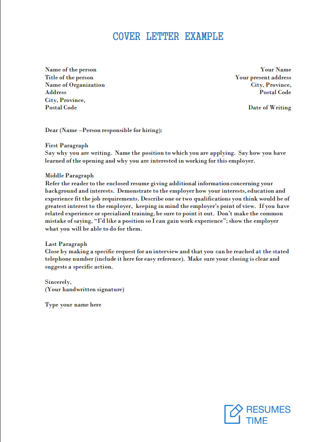 Cover Letter Examples & Templates: Tips That Really Work