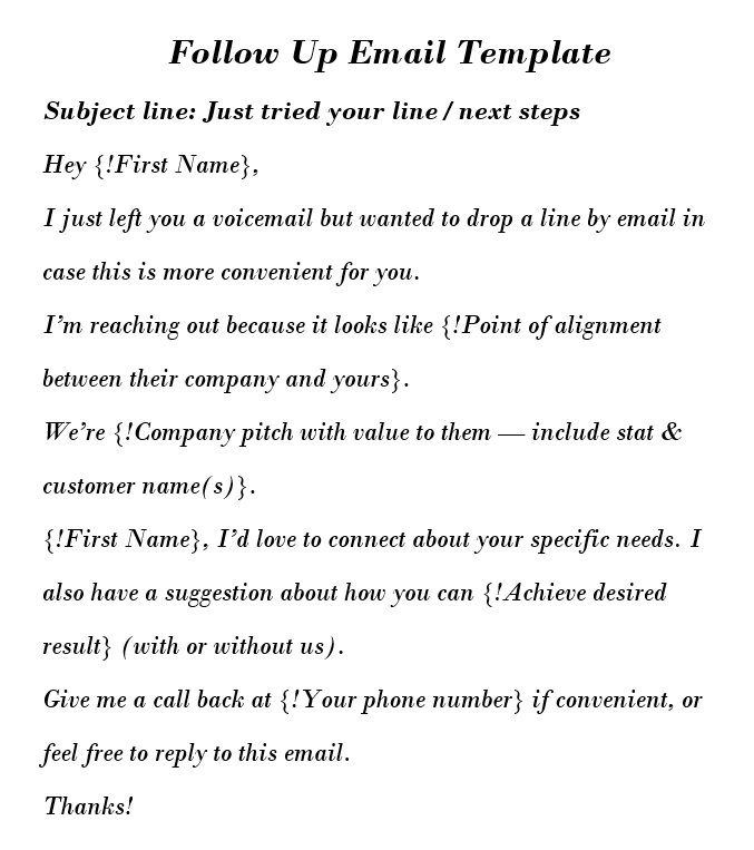 Job Application Follow Up Email Remind About Yourself And Get A Job